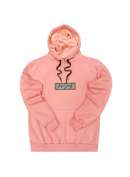 CLVSE SOCIETY SOMON HOODIE WITH SILVER PATCH