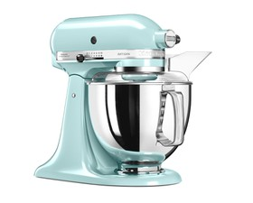 KitchenAid Μίξερ 4,8lt. Ice Blue Artisan Κομπλέ