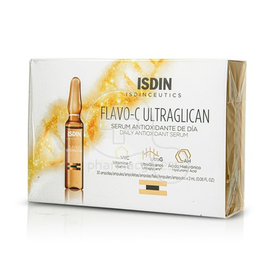 ISDIN - FLAVO-C ULTRAGLICAN Daily Antioxidant Serum - 30x2ml