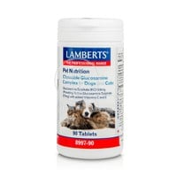 LAMBERTS - PET NUTRITION Chewable Glucosamine Complex for Dogs & Cats - 90tabs