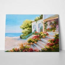 Greek summer painting 3 a