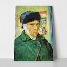 Van gogh   self portrait with bandaged ear
