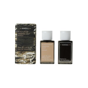 KORRES Γυναικείο άρωμα black sugar-oriental lilly-violet 50ml