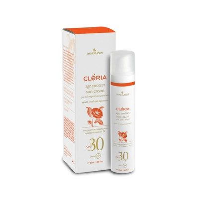 CLERIA - Age Protect Sun Cream SPF30 - 50ml