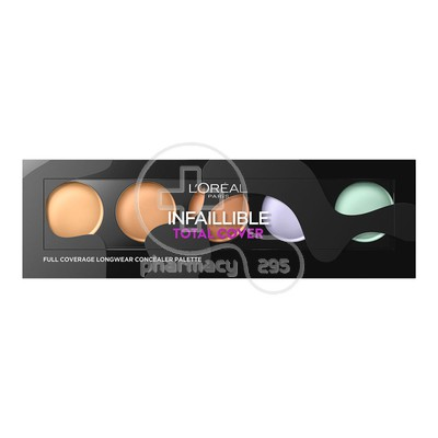 L'OREAL PARIS - INFAILLIBLE Total Cover Concealer Palette - 10gr