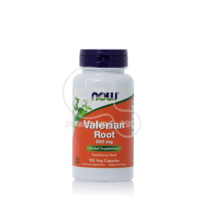 NOW - Valerian Root 500mg - 100caps