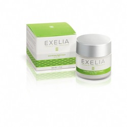 Exelia Anti-Wrinkle Night Cream for normal & dry skin 50ml