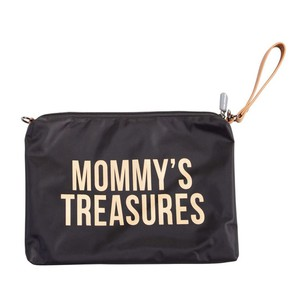 Νεσεσέρ Childhome Mommy Treasures Clutch Black Gold