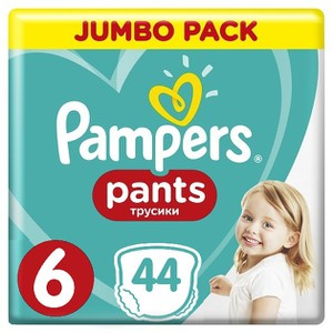 Pampers pants no6 44s