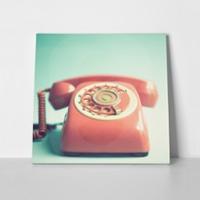 Retro red phone 1 a