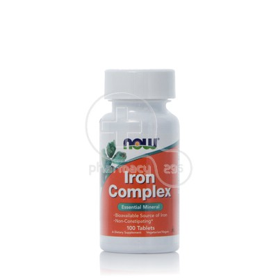 NOW - Iron Complex - 100tabs