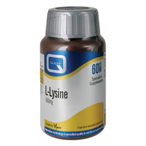 Quest l lysine 500mg