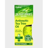 OPTIMA AUSTRALIAN TEA TREE ANTISEPTIC OIL 25ML