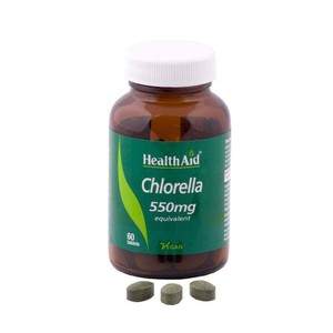 Health aid chlorella