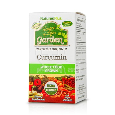 NATURES PLUS - SOURCE OF LIFE GARDEN Curcumin 400mg - 30caps