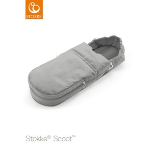 Scoot Foot Muff Grey Melange