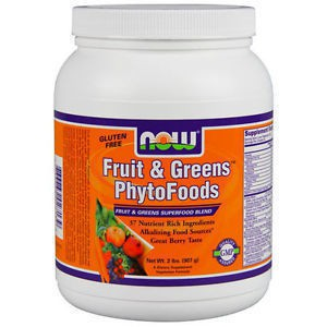 Now foods fruit   greens  phytofoods