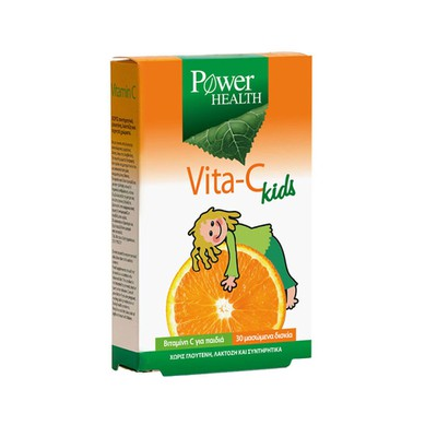 Power Health - Vita-C Kids - 30chew.tabs