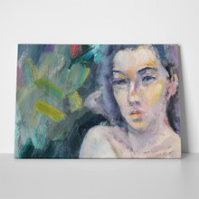 Naked woman oil painting 2 405878083 a