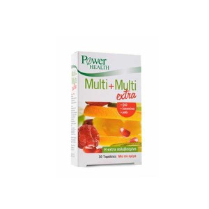 POWER HEALTH Multi+multi extra 30δισκία