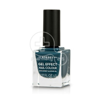 KORRES - GEL EFFECT Nail Colour Νο84 Indigo Blue  - 11ml