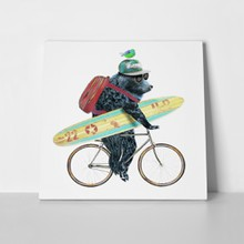 Bear with bicycle 314670728 a