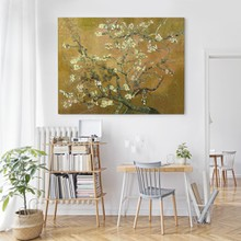 Van gogh almond blossom yellow