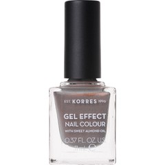 Korres Gel Effect Nail Colour 70 Holographic Ash - Βερνίκι Νυχιών, 11ml