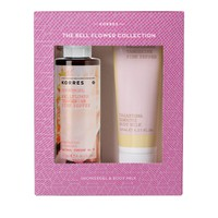 KORRES SHOWERGEL BELLFLOWER-TANGERINE-PINK PEPPER 50ML (PROMO+BODY MILK 125ML)