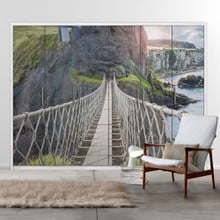 Rope bridge b