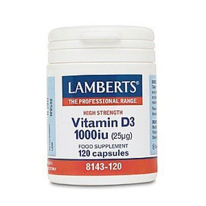 Lamberts vitamin d3 1000ml  120caps