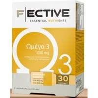 F ECTIVE OMEGA 3 1000MG 30 LIPID CAPS