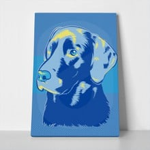 Labrador retriever dog pop art 102782804 a