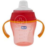 CHICCO - Soft Cup 6m+ (πορτοκαλί) - 200ml