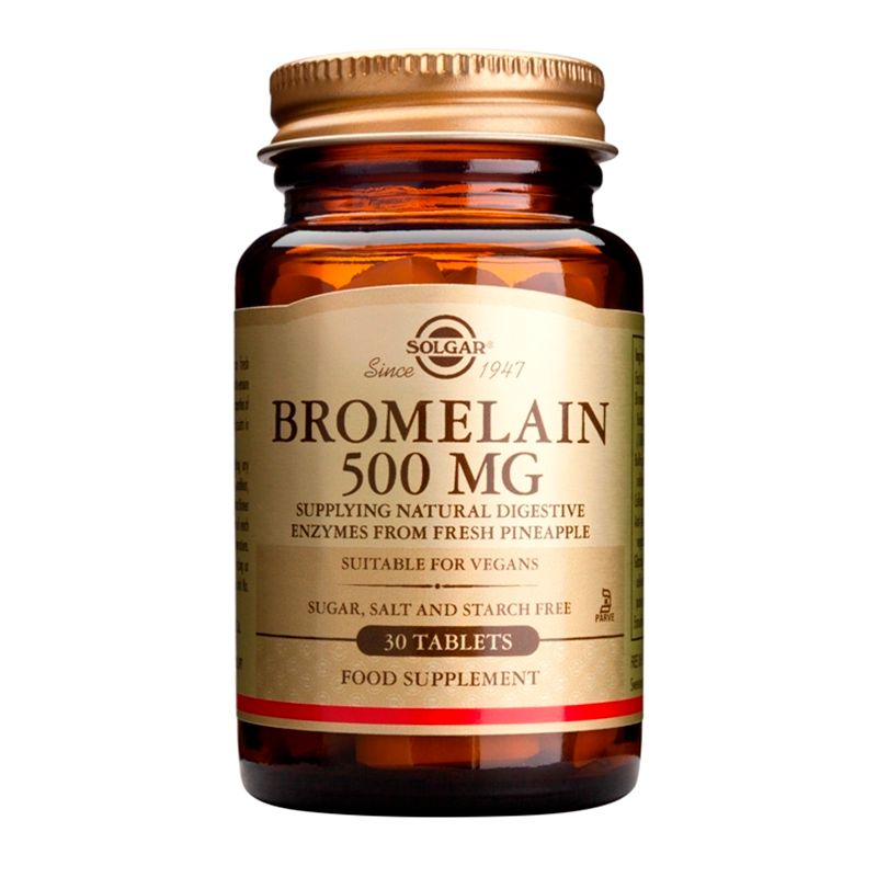 Bromelain 500mg tablets