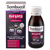 SAMBUCOL LIQUID WITH VITAMIN-C FOR KIDS 120ML