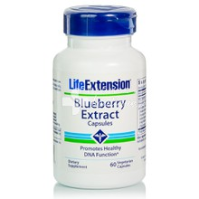 Life Extension Blueberry Extract - Αντιοξειδωτικό, 60v.caps