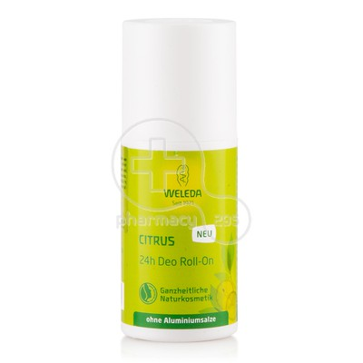 WELEDA - 24h Deo Roll On Κίτρο - 50ml