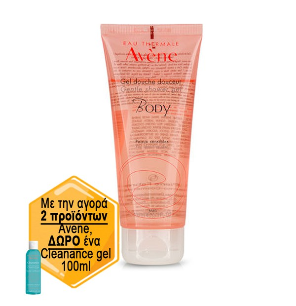AVENE GEL DOUCHE BODY ESSENTIEL 100ML