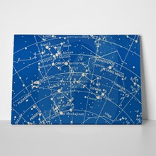 Orion and pleiades star map 69346435 a