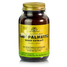 Solgar SAW PALMETTO Berry Extract - Προστάτης, 60 caps