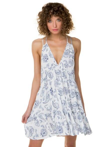 d64ad683d8c1 Φλοράλ ριχτό φόρεμα
