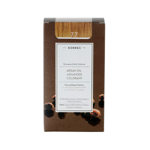 KORRES Βαφή argan oil advanced colorant 7.7 μόκα