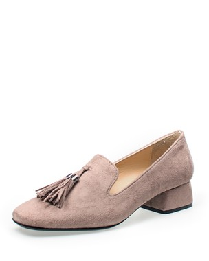 ELEGANT SLIP-ON, MEDIUM HEEL SHOE