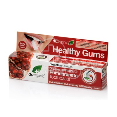 DR. ORGANIC - POMEGRANATE Toothpaste - 100ml