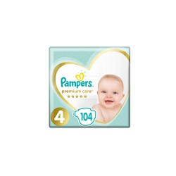 Pampers Premium Care Diapers Size 4 (9-14kg) 104 Diapers