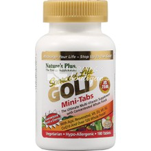 Nature's Plus SOURCE OF LIFE GOLD Mini Tabs - Ενέργεια, 180 tabs