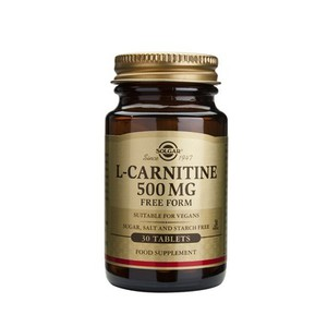 SOLGAR L-carnitine 500mg 30tablets