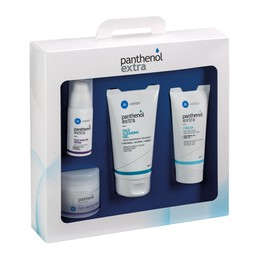 Panthenol Extra ΠΑΚΕΤΟ ΠΡΟΣΦΟΡΑΣ με Face & Eye Cream, 50ml & ΜΑΖΙ Face & Eye Serum, 30ml & ΜΑΖΙ Face Cleansing, 150ml & Cream Urea 5%, 100ml