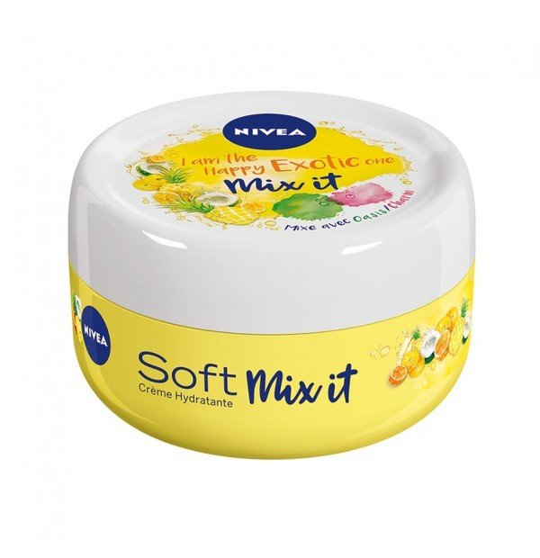 NIVEA SOFT YELLOW LIMITED EDITION 50ML
